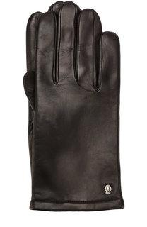 Кожаные перчатки с кашемировой подкладкой Roeckl
