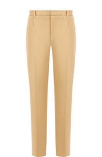 Хлопковые брюки прямого кроя CALVIN KLEIN 205W39NYC