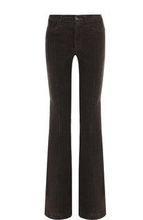 Хлопковые расклешенные брюки со стрелками Dorothee Schumacher