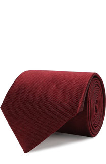Однотонный шелковый галстук Brioni