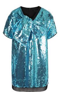 Мини-платье с пайетками Marc Jacobs