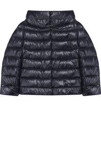 Стеганая куртка с воротником-стойкой Herno