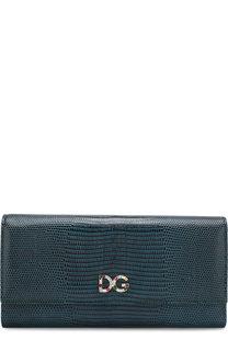Кожаный кошелек с клапаном Dolce & Gabbana