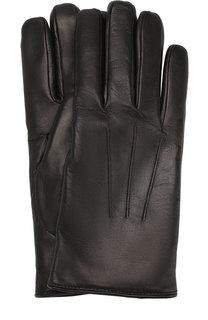 Кожаные перчатки Brioni