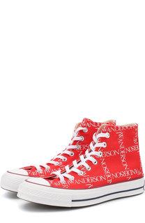 Высокие текстильные кеды Chuck Taylor Converse х JW Anderson Converse