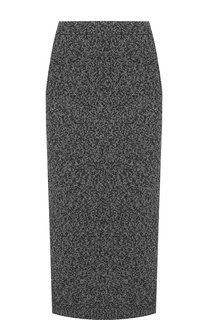 Вязаная юбка-миди из смеси шерсти и кашемира Tak.Ori