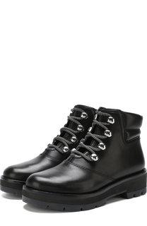Кожаные ботинки Dylan на шнуровке 3.1 Phillip Lim