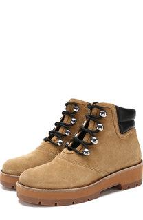 Замшевые ботинки Dylan на шнуровке 3.1 Phillip Lim