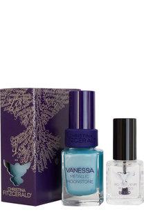 Лак для ногтей Vanessa Metallic + bond-подготовка Christina Fitzgerald
