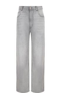 Укороченные джинсы с потертостями Golden Goose Deluxe Brand