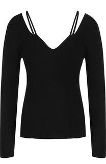 Однотонный пуловер фактурной вязки Altuzarra