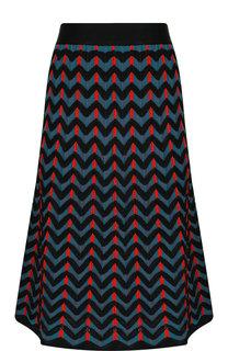 Вязаная юбка-миди с эластичным поясом M Missoni