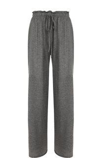 Однотонные кашемировые брюки с эластичным поясом The Row