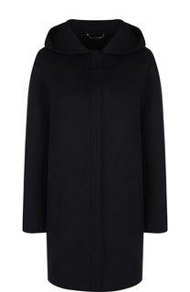 Однотонное кашемировое пальто с капюшоном Colombo