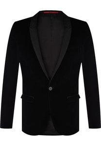 Однобортный вечерний пиджак HUGO