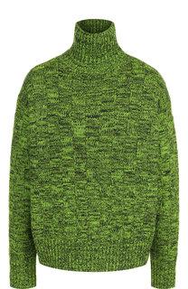 Пуловер из смеси шерсти и хлопка с воротником-стойкой Victoria, Victoria Beckham
