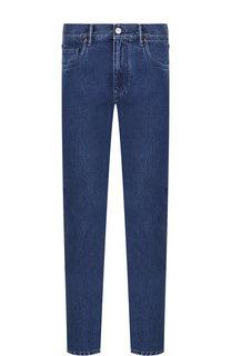 Хлопковые джинсы прямого кроя Ermenegildo Zegna