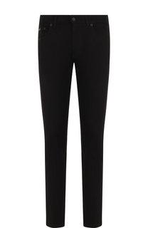 Однотонные джинсы прямого кроя Dolce & Gabbana