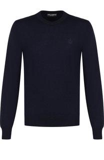 Однотонный шерстяной джемпер Dolce & Gabbana