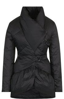 Однотонная стеганая куртка Emporio Armani