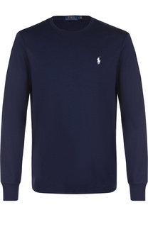 Хлопковый джемпер с логотипом бренда Polo Ralph Lauren