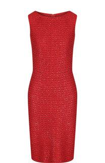 Вязаное платье без рукавов St. John