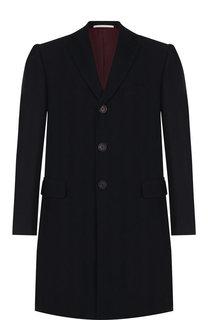 Шерстяное приталенное пальто Pal Zileri