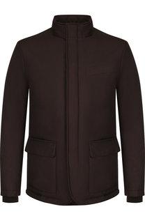 Куртка на молнии с воротником-стойкой Pal Zileri