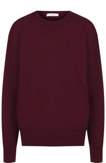 Однотонный кашемировый пуловер с круглым вырезом The Row