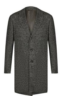 Однобортное шерстяное пальто Loro Piana