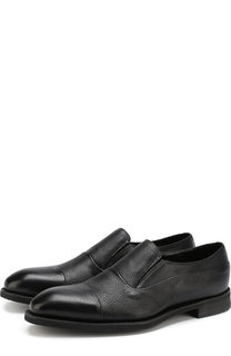 Кожаные туфли без шнуровки Barrett