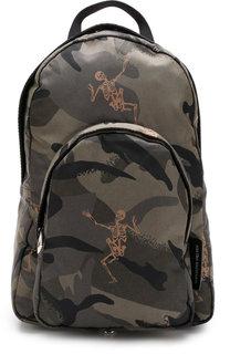 Текстильный рюкзак на одно плечо Alexander McQueen
