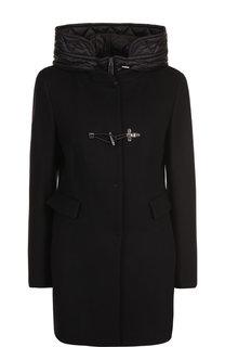 Куртка из смеси шерсти и кашемира с капюшоном Fay