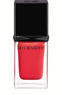 Лак для ногтей, оттенок 10 мандариновое болеро Givenchy