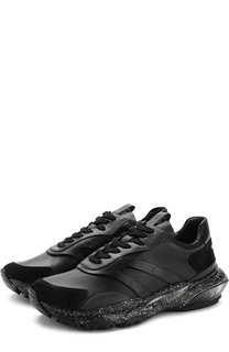 Кожаные кроссовки Valentino Garavani Valentino