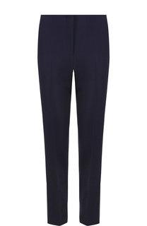 Однотонные брюки из смеси шерсти и шелка со стрелками Ralph Lauren