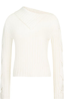 Однотонный вязаный пуловер See by Chloé