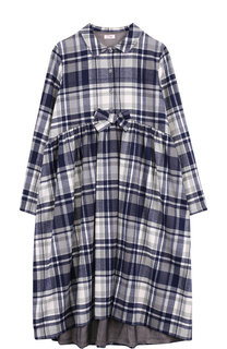 Платье-рубашка свободного кроя Il Gufo