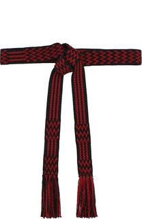 Плетеный ремень с кисточками Isabel Marant