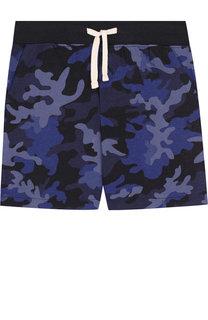 Хлопковые шорты с принтом Polo Ralph Lauren