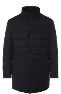 Утепленная шерстяная куртка на пуговицах BOSS