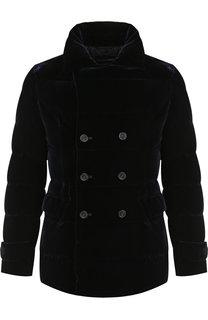 Укороченной пальто из вискозы Emporio Armani