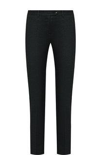 Укороченные шерстяные брюки со стрелками Kiton