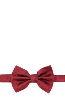 Шелковый галстук-бабочка Emporio Armani