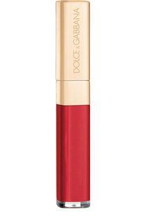 Блеск для губ с эффектом мерцания, 110 Ruby Dolce & Gabbana