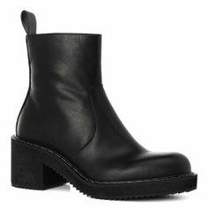 Ботинки JIL SANDER NAVY JN31032A черный