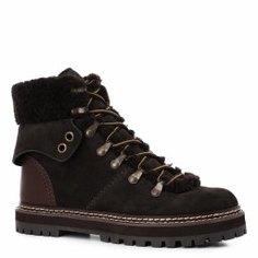 Ботинки SEE by CHLOE SB31120A темно-серый