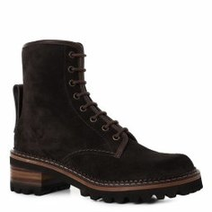 Ботинки SEE by CHLOE SB31040A темно-серый