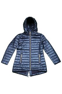 Удлиненная куртка с капюшоном PEGGY-HO