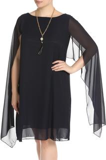 Платье с шифоном BlagoF